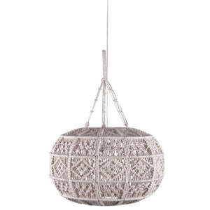 Kurv Macrame Light Pendant