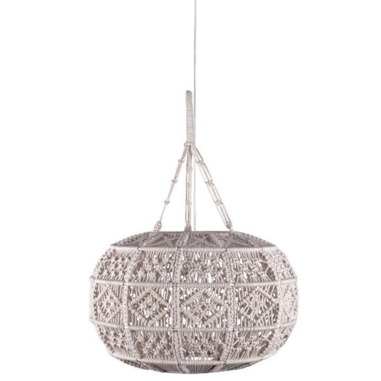 Kurv Macrame Light Pendant - taylor ray decor