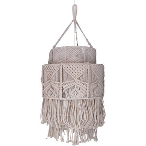Stroma Macrame Light Pendant - taylor ray decor