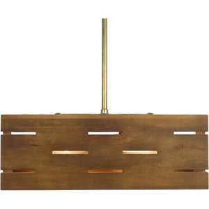 Elke Mango Wood Light Pendant