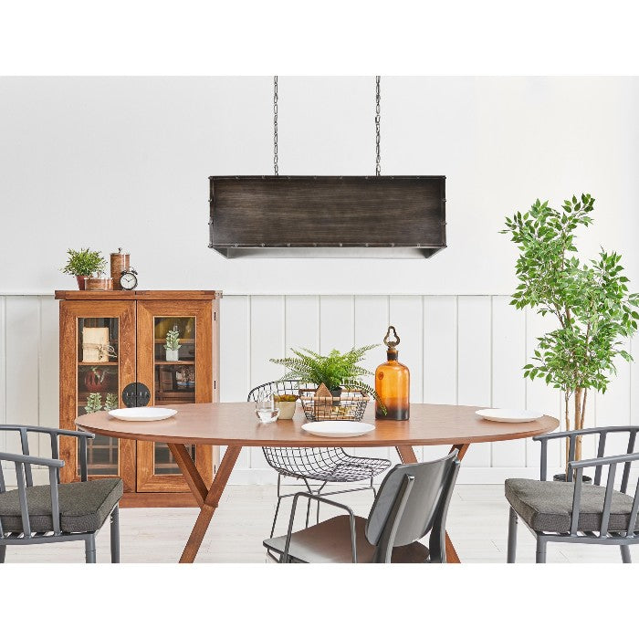 Flagstaff Iron Light Pendant - taylor ray decor