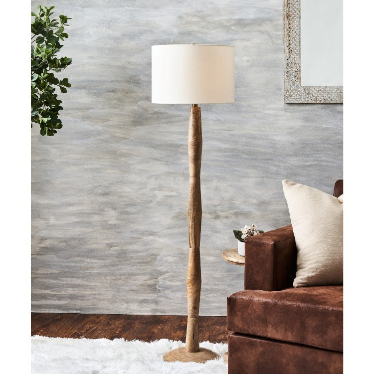 Connelly Classic Wood Floor Lamp