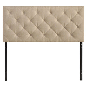 Theodore Queen Fabric Headboard