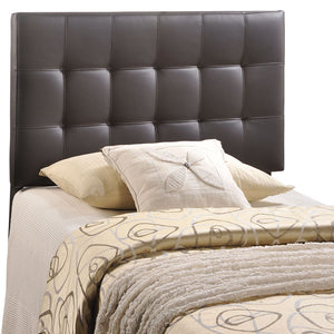 Lily Twin Vinyl Headboard - taylor ray decor