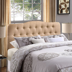 Annabel King Fabric Headboard