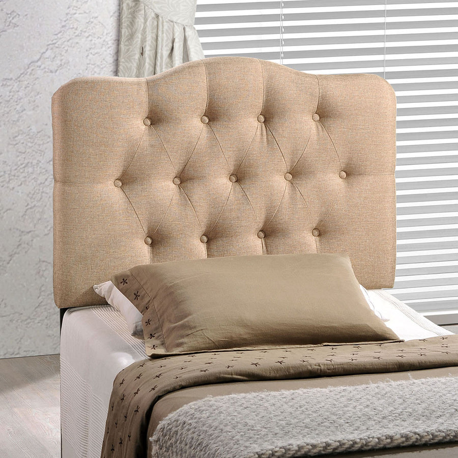 Annabel Twin Fabric Headboard