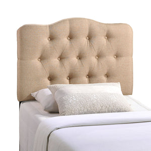 Annabel Twin Fabric Headboard - taylor ray decor