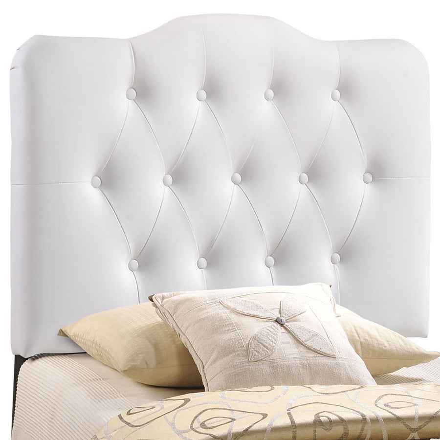 Annabel Twin Vinyl Headboard - taylor ray decor