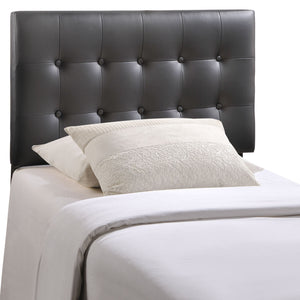 Emily Twin Vinyl Headboard - taylor ray decor