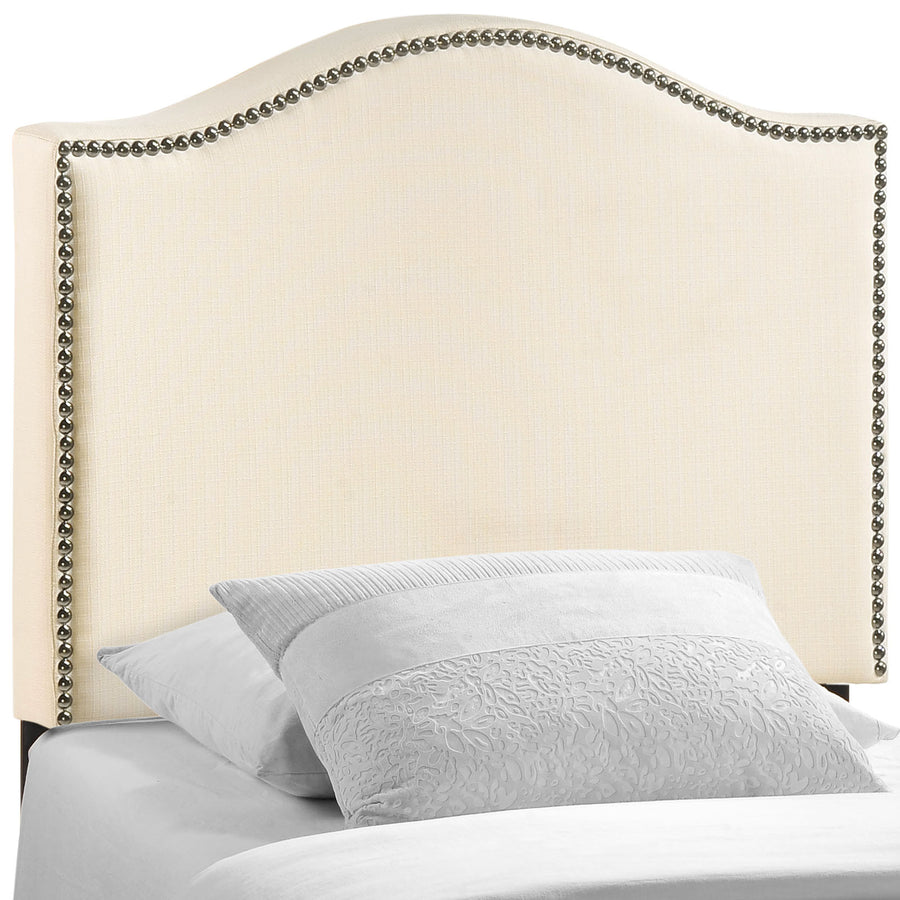 Curl Twin Nailhead Upholstered Headboard - taylor ray decor