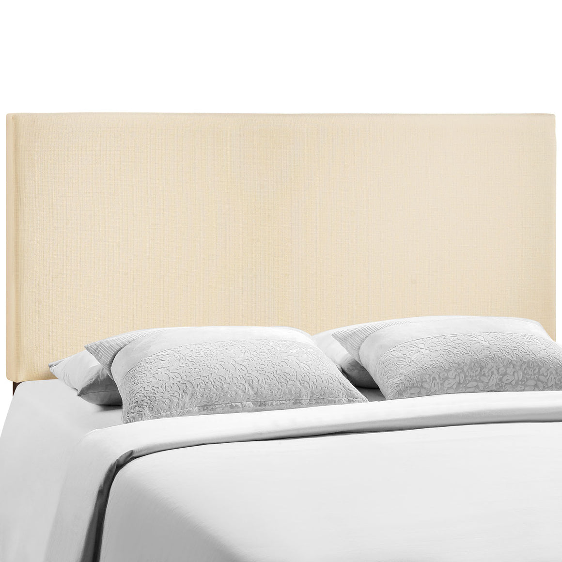 Region King Upholstered Headboard in Ivory