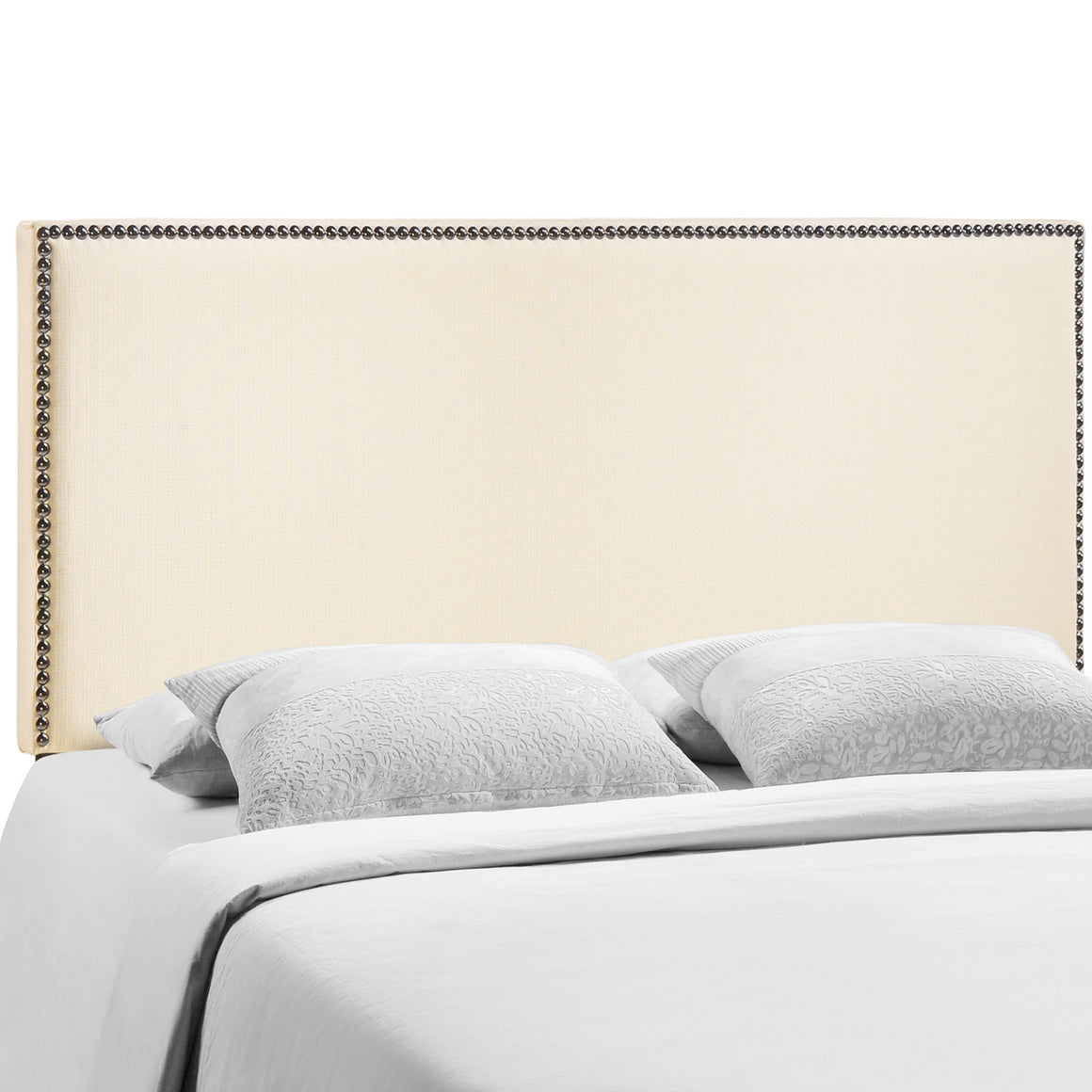 Region King Nailhead Upholstered Headboard - taylor ray decor