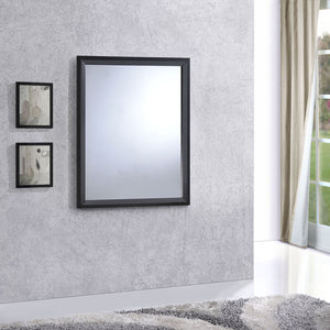 Tracy Modern Wood Mirror