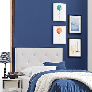Terisa Twin Vinyl Headboard