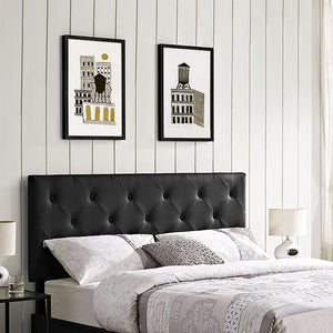 Terisa King Vinyl Headboard