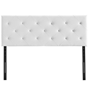 Terisa Queen Vinyl Headboard