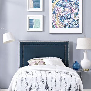 Jessamine Twin Fabric Headboard