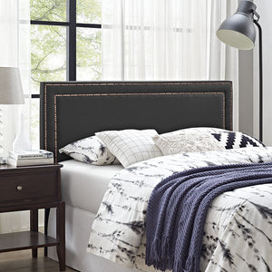 Jessamine King Vinyl Headboard