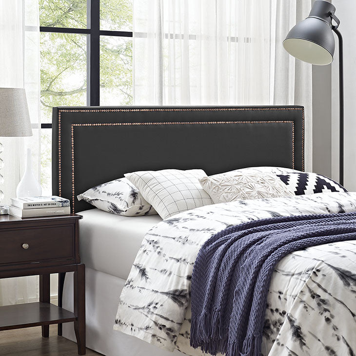 Jessamine King Vinyl Headboard - taylor ray decor