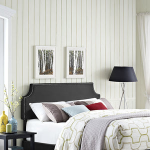 Laura Queen Vinyl Headboard