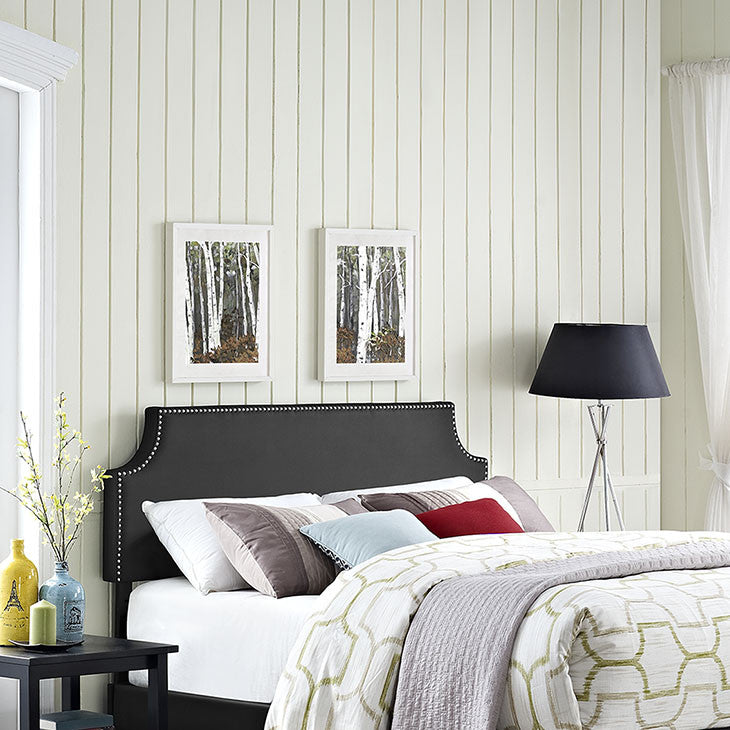 Laura Full Vinyl Headboard