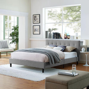 Linnea Queen Size Platform Bed