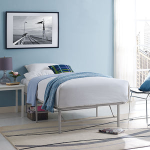 Horizon Twin Stainless Steel Bed Frame - taylor ray decor