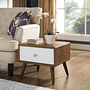 Transmit Modern Nightstand / End Table - taylor ray decor