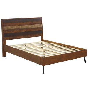 Arwen Rustic Wood Queen Bed
