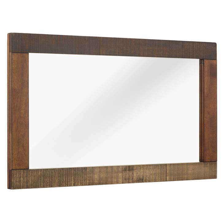 Arwen Rustic Wood Frame Mirror - taylor ray decor