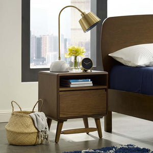 Talwyn Modern Wood Nightstand / End Table - taylor ray decor