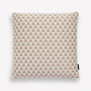 Mesh Cotton & Nylon Pillow in Shell/Pink