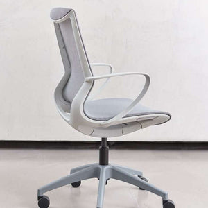 Pret Ocean Mesh Shell Executive Chair with Chalk Finish
