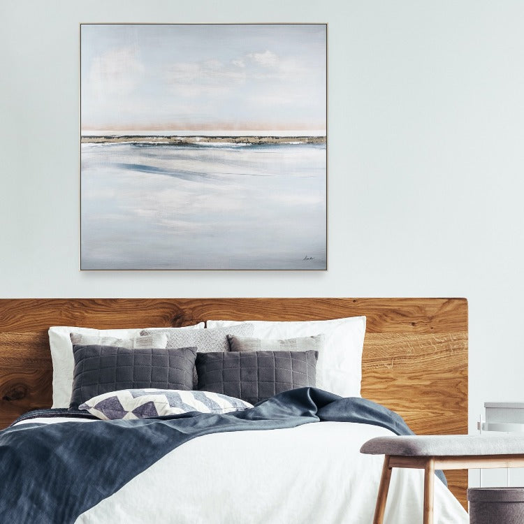 Johnston Hand Painted Seascape Canvas - taylor ray decor