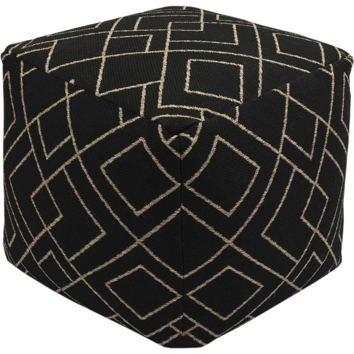 Becco Machine Made Outdoor Pouf - taylor ray decor