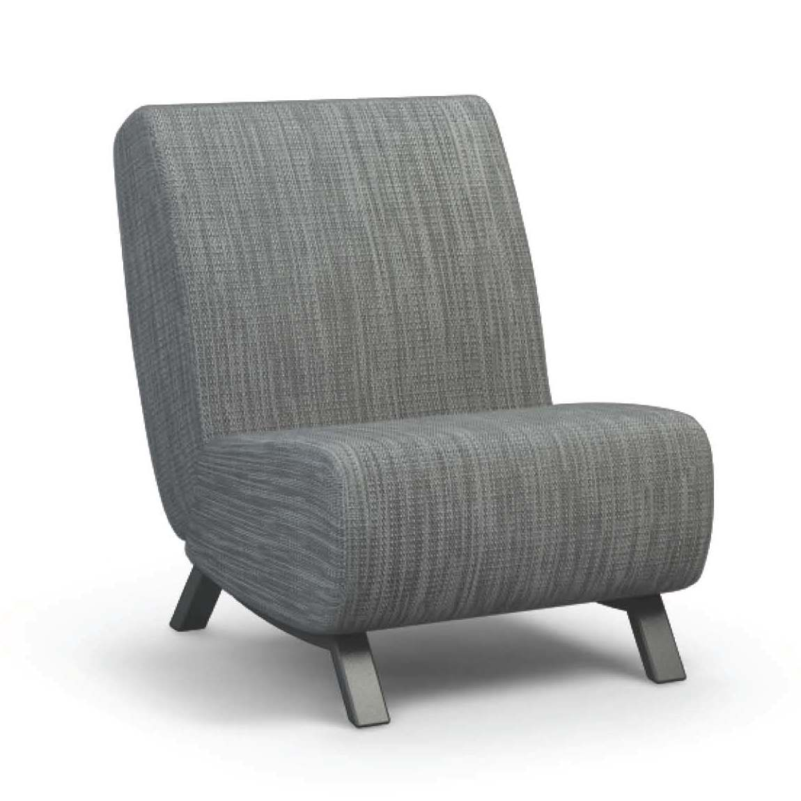 Airo2 (Aluminum) Armless Chair - taylor ray decor