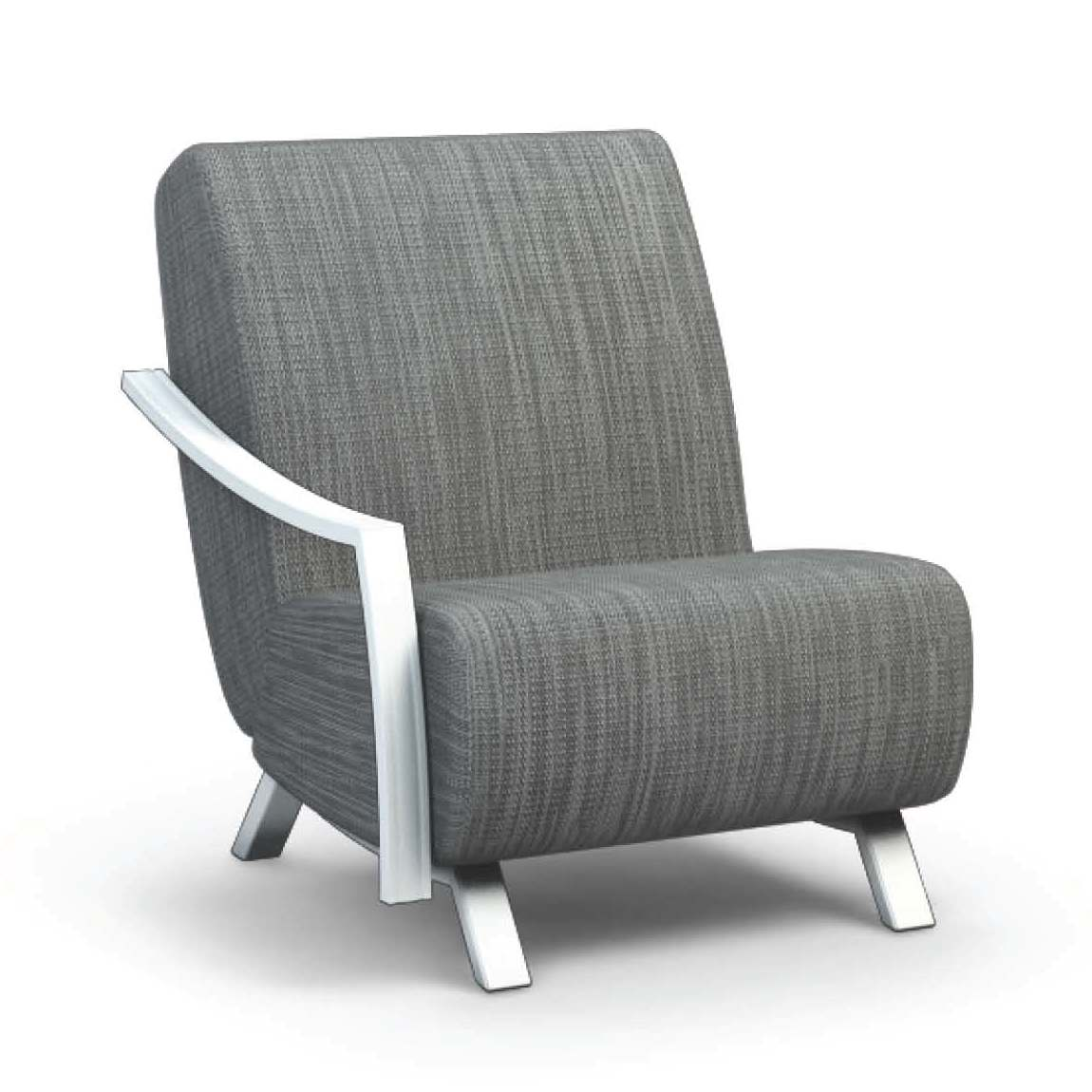 Airo2 (Aluminum) Right Arm Chair - taylor ray decor