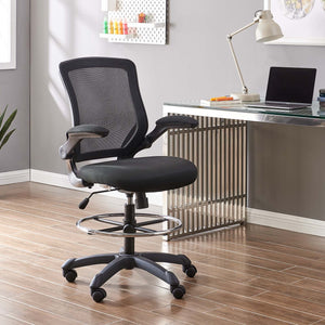 Veer Modern Mesh Drafting Stool - taylor ray decor