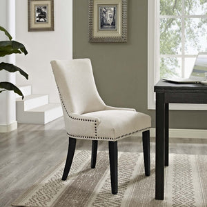 Marquis Fabric Dining Chair in Beige