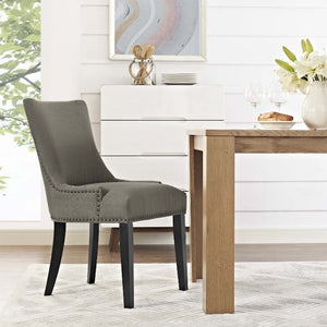 Marquis Fabric Dining Chair in Granite