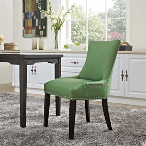 Marquis Fabric Dining Chair in Kelly Green