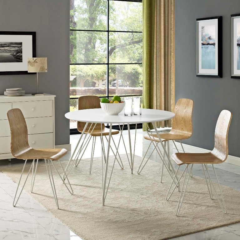 Satellite Circular Modern Dining Table - taylor ray decor