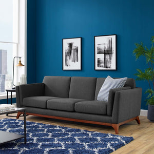 Chance Contemporary Upholstered Fabric Sofa - taylor ray decor
