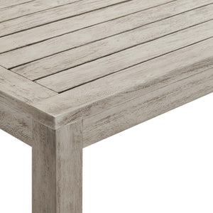 Wiscasset Outdoor Patio Acacia Coffee Table