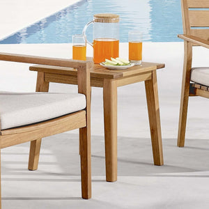 Viewscape Outdoor Patio End Table - taylor ray decor
