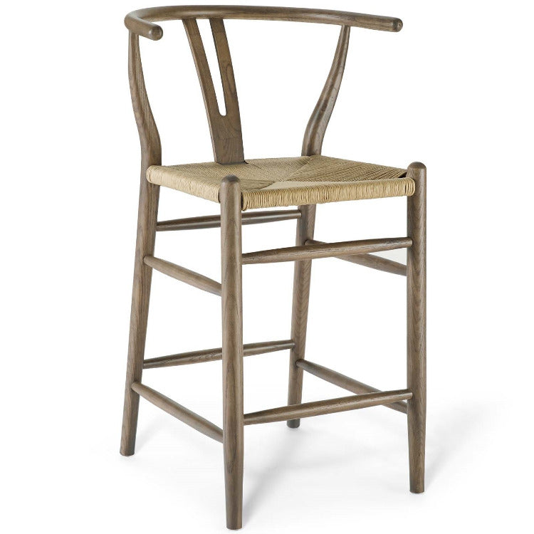 Amish Wood Counter Stool - taylor ray decor