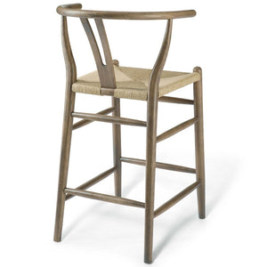 Amish Wood Counter Stool
