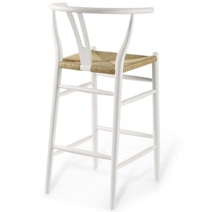 Amish Wood Bar Stool - taylor ray decor