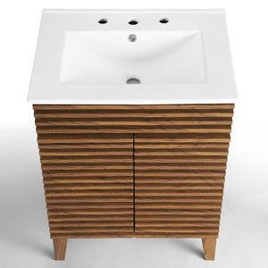 Render Bathroom Vanity with Sink Basin