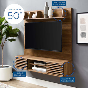 Render Wall Mounted TV Stand Entertainment Center - taylor ray decor